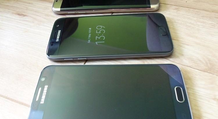 Pagrindiniai Samsung galaxy S6 ir S7 skirtumai