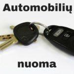 Automobilių nuoma Vilniuje – kodėl, kam ir kada?