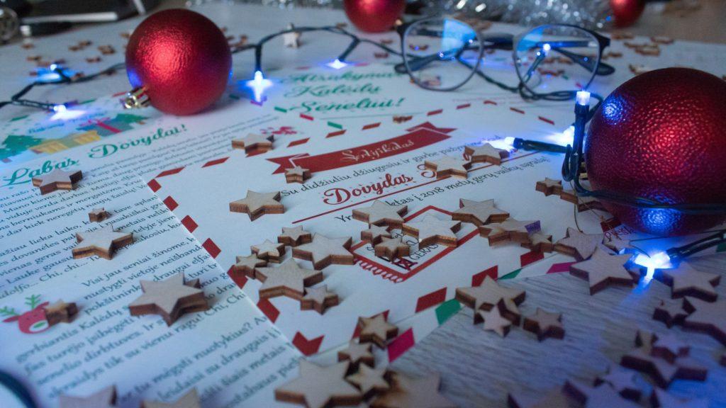 Padėkite vaikui parašyti laišką Kalėdų seneliui. Naudingi patarimai straipsnyje