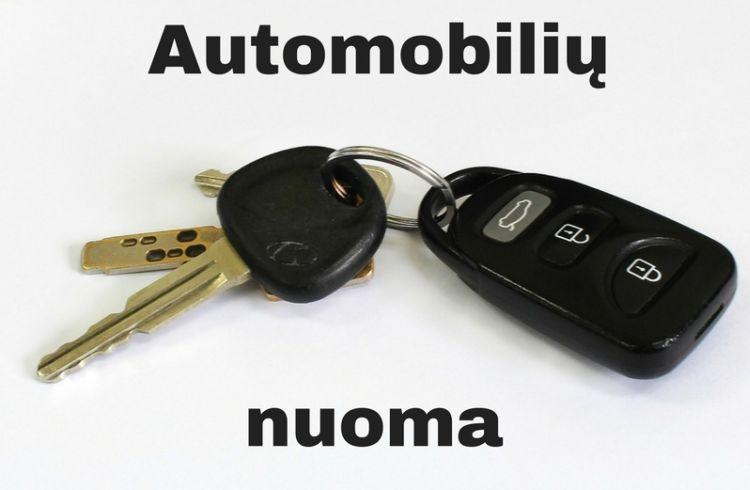 Automobilių nuoma Vilniuje – kaip pasirinkti?