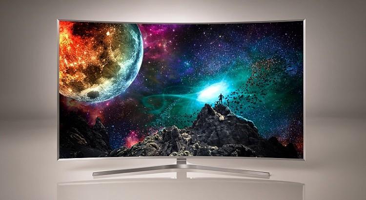 Samsung SUHD TV: Ar pasiteisins lenkti televizorių ekranai?
