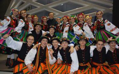 Vilniaus rajono tautinių šokių kolektyvas sužavėjo žiūrovus